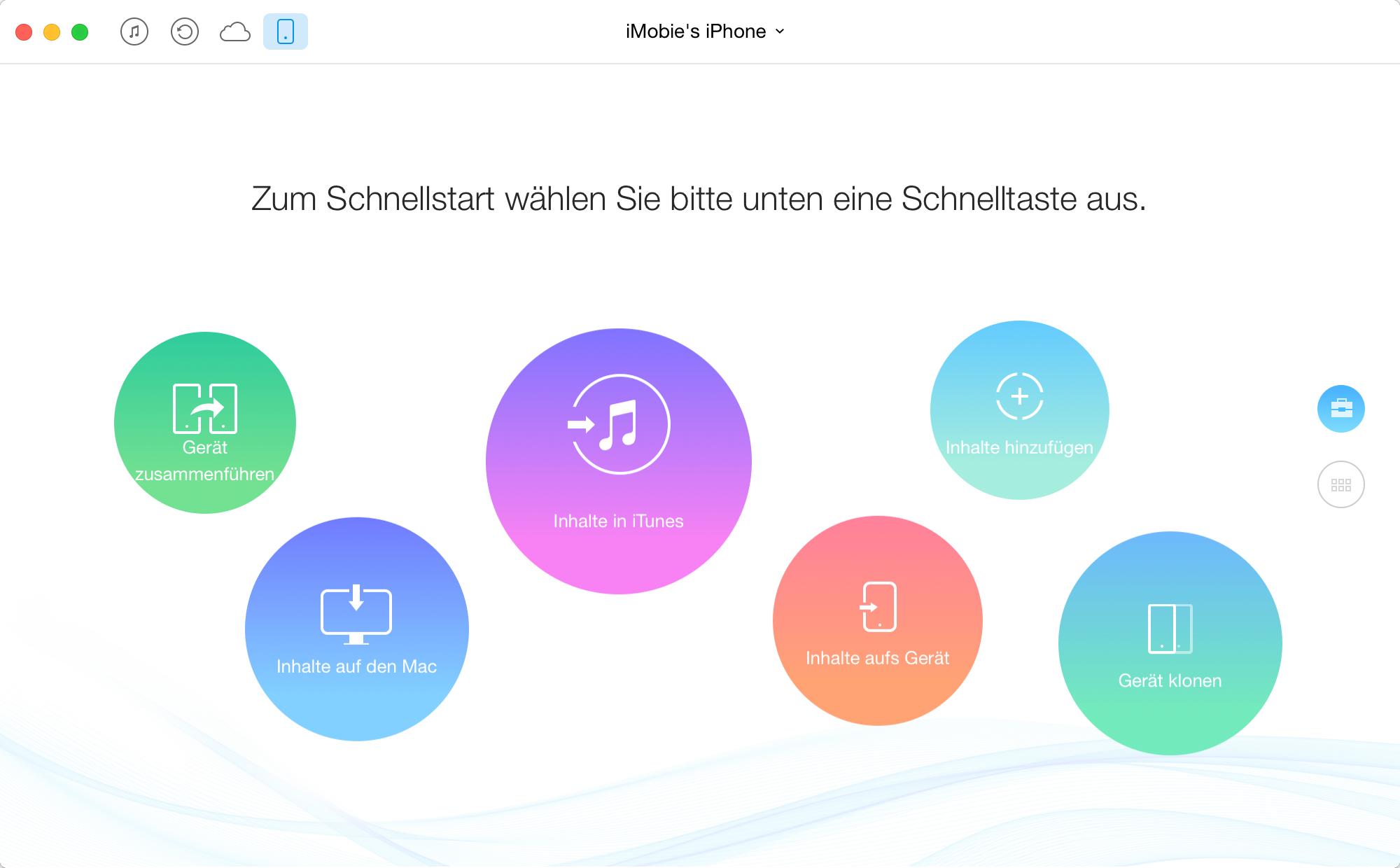Daten auf neues iPhone übertragen – Schritt 1