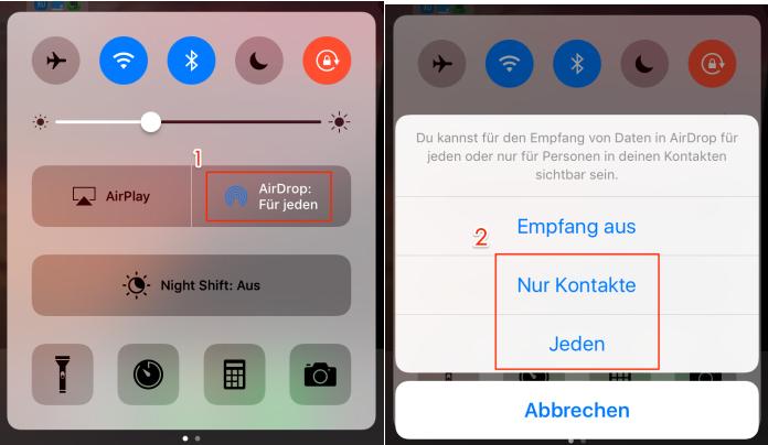 iPhone mit Mac koppeln – Schritt 2