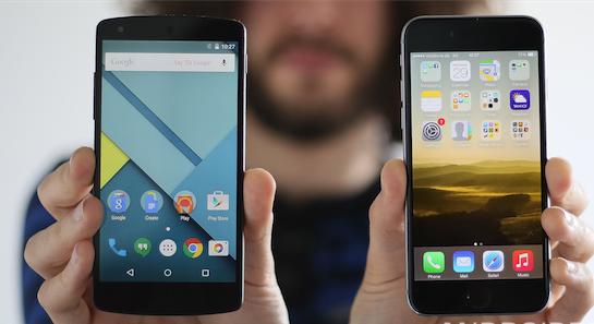 Daten von Android auf iOS