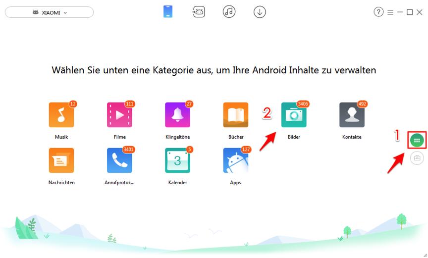 Wie kann man Daten von Android auf PC übertragen – Fotos übertragen
