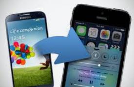wie kann man daten von samsung auf iphone übertragen