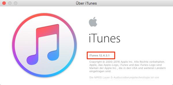 iTunes aktualisieren