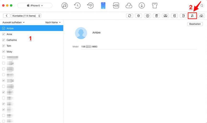 iphone kontakte auf neuen mac übertragen