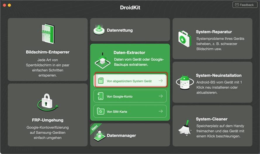 DroidKit Überblick