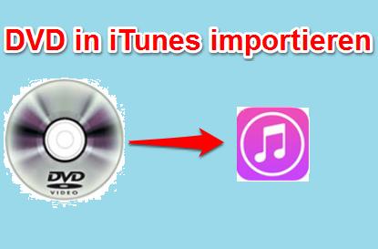DVD in iTunes importieren