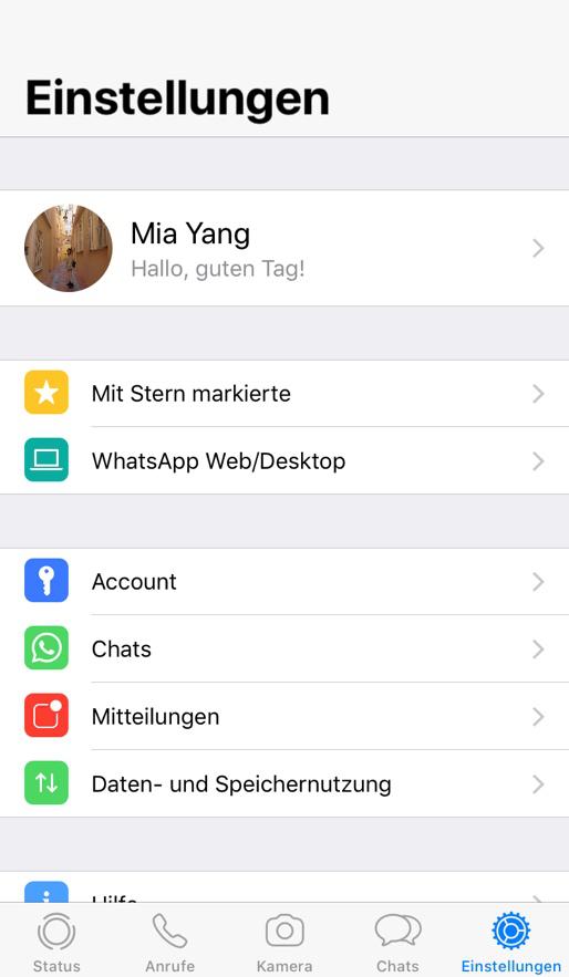 einstellungen-mit-whatsapp-machen