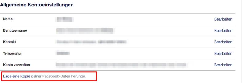 Facebook Messenger gelöschte Nachrichten wiederherstellen auf iPhone
