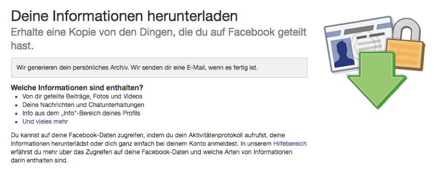 Gelöschte Facebook Nachrichten wiederherstellen auf dem iPhone