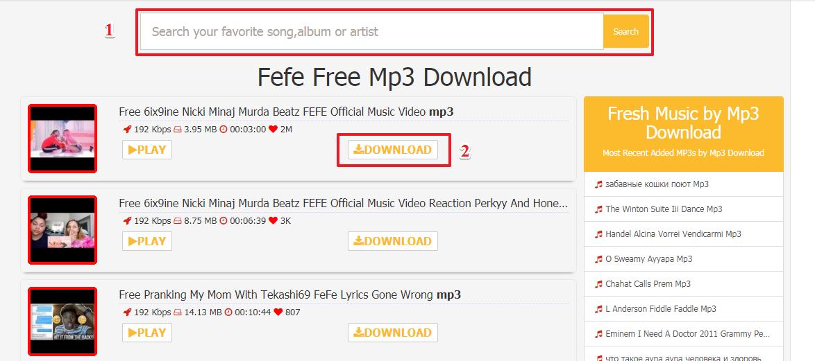 Nicki Minaj 6ix9ine FEFE herunterladen