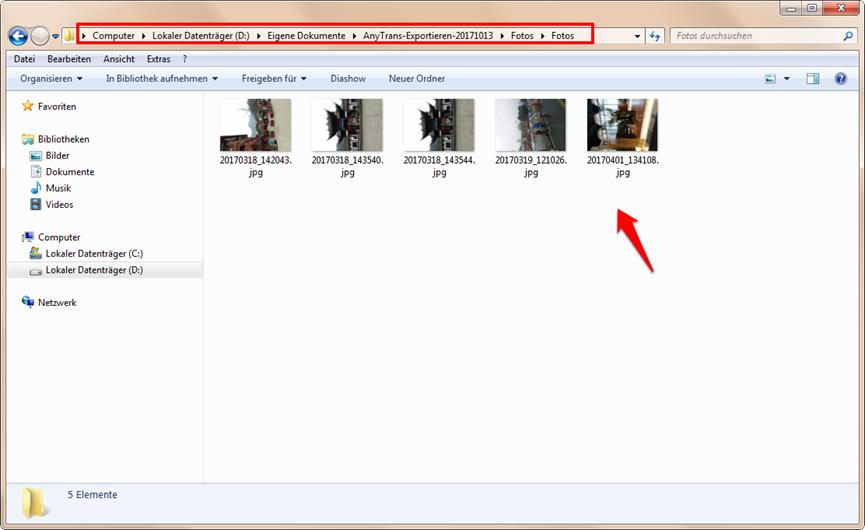 Fotos von iCloud laden – Download erfolgen