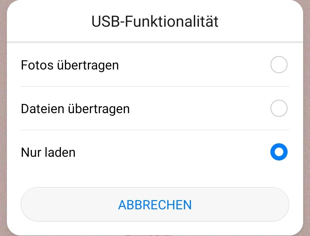 fotos-uebertragen-modus