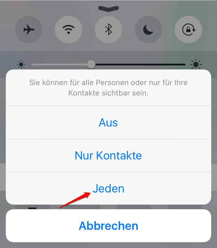 Fotos vom iPhone X/8/7 auf iPad mit AirDrop übertragen