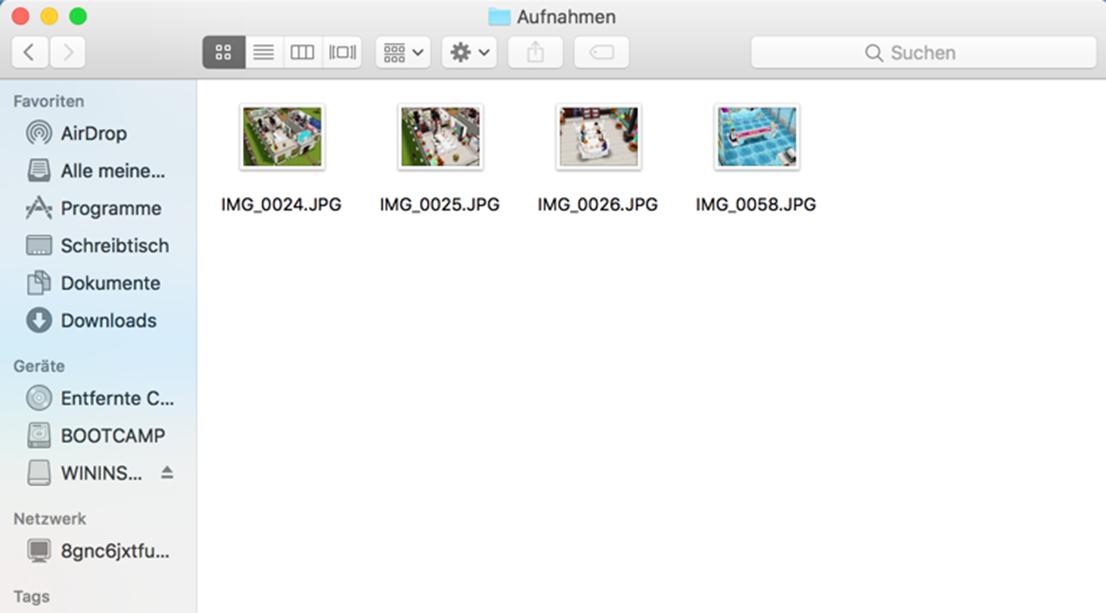 Fotos von iPhone auf Mac transportieren