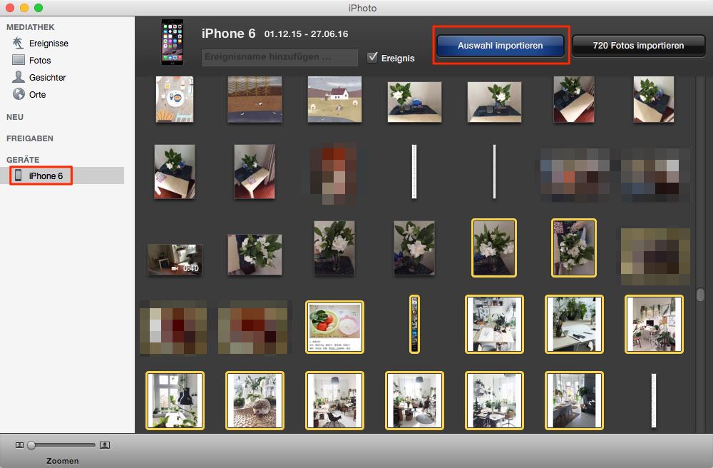Teil 2: Übertragen Sie Bilder vom iPhone auf den Computer und dann auf einen USB-Stick