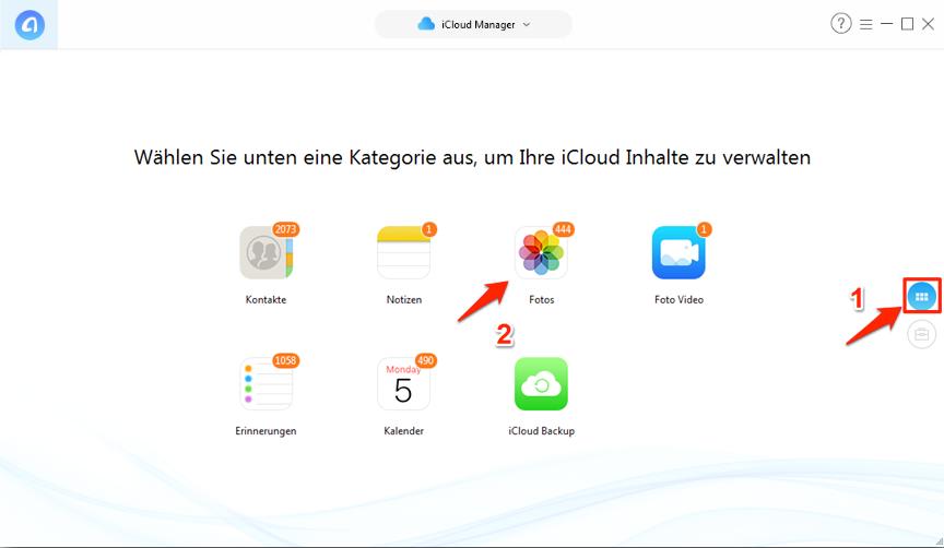 Fotos von iCloud auf iPhone – Fotos zuerst auf PC laden