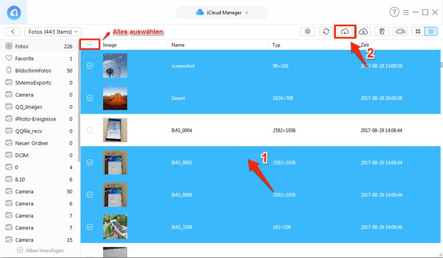 Fotos von iCloud auf PC speichern – den Ordner der Fotos finden