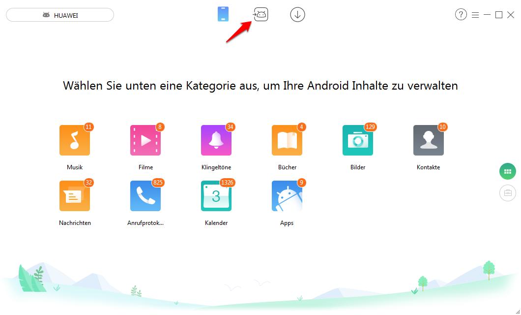 Fotos von iPhone auf Android – Schritt 1