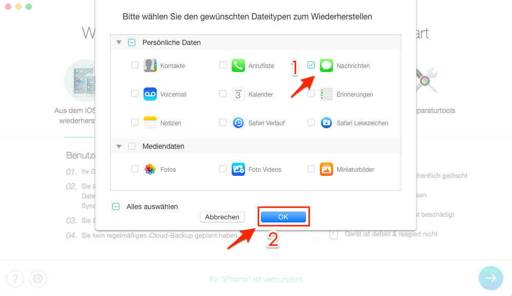 App Sms Wiederherstellen Iphone
