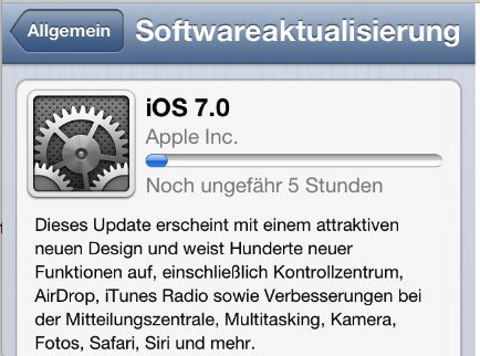 Problem von iOS 8 – Problem von Batterie