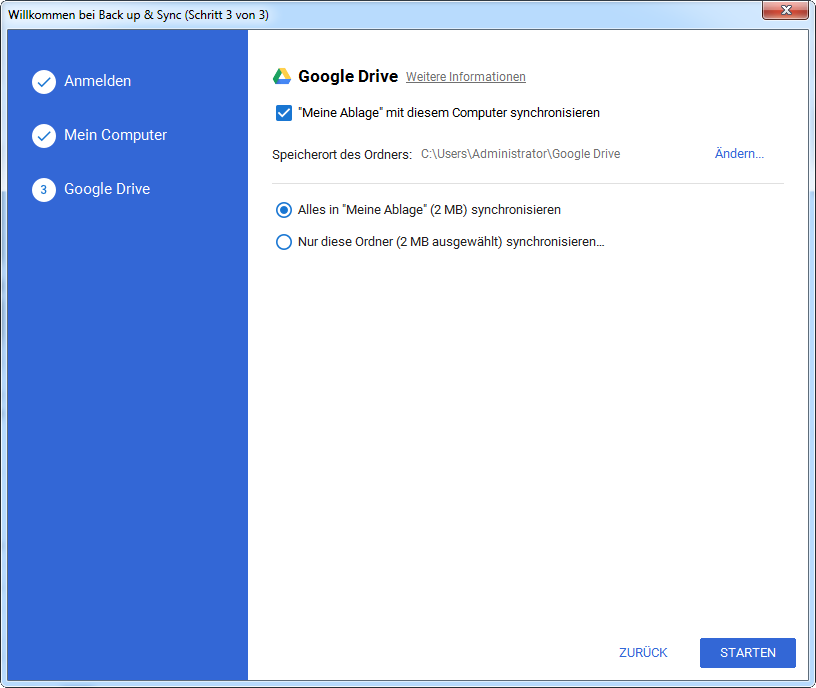 google-drive-mit-conmputer-übertragen