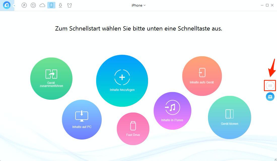 iPhone Musik grau hinterlegen – Schritt 1