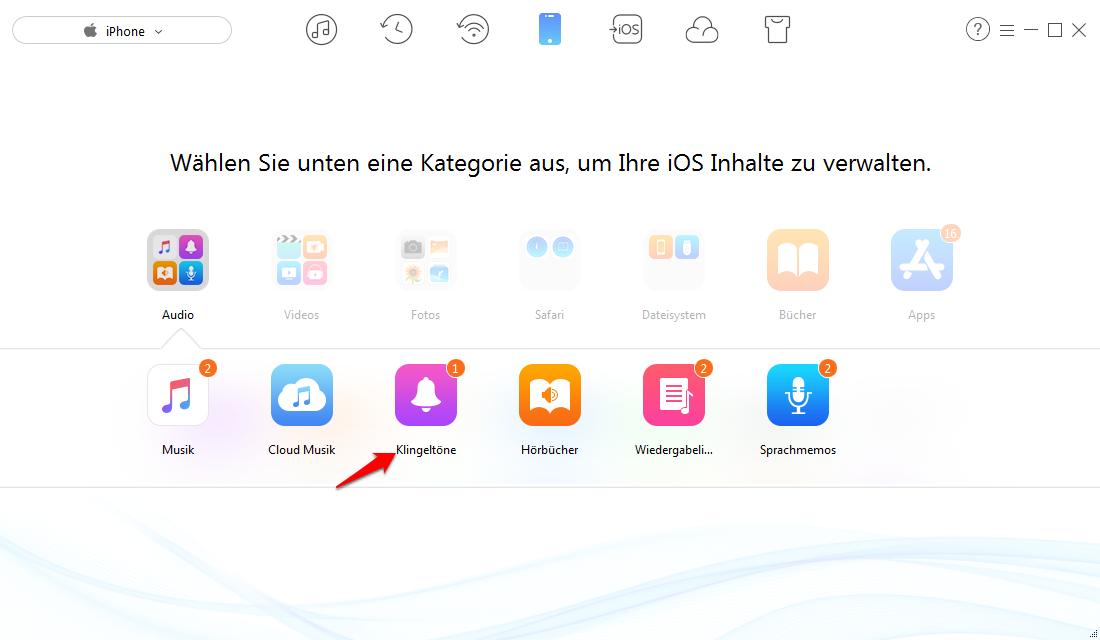 iPhone Klingeltone einfach erstellen – Schritt 2