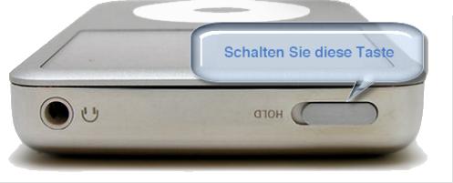 iPod zurücksetzen