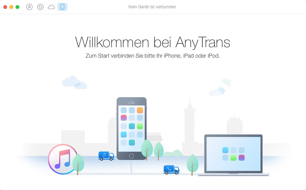 iPod Musik übertragen, ohne iTunes – Schritt 1