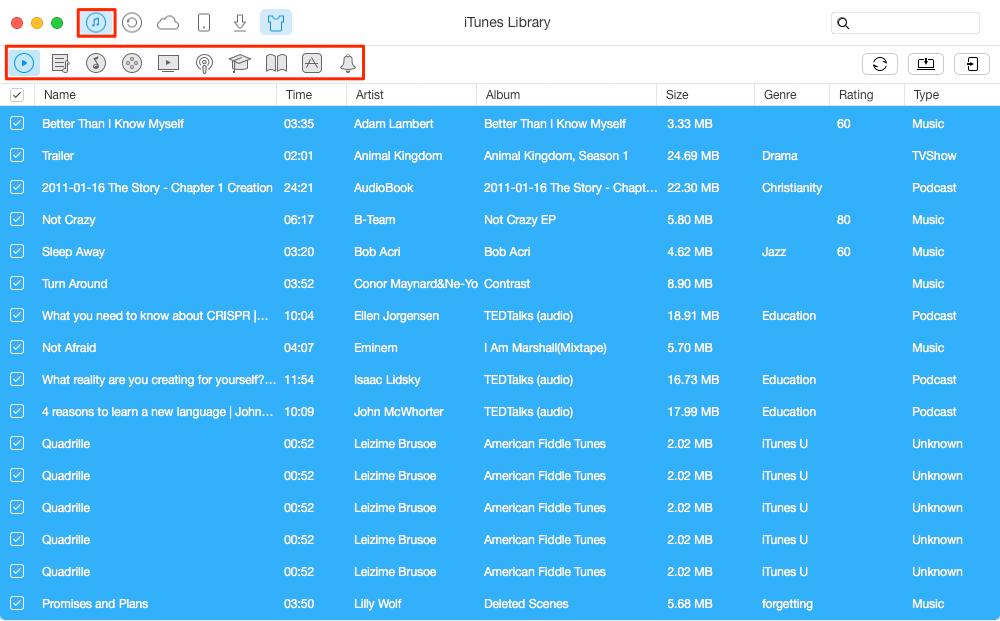 iTunes Mediathek auf neues iPhone synchronisieren