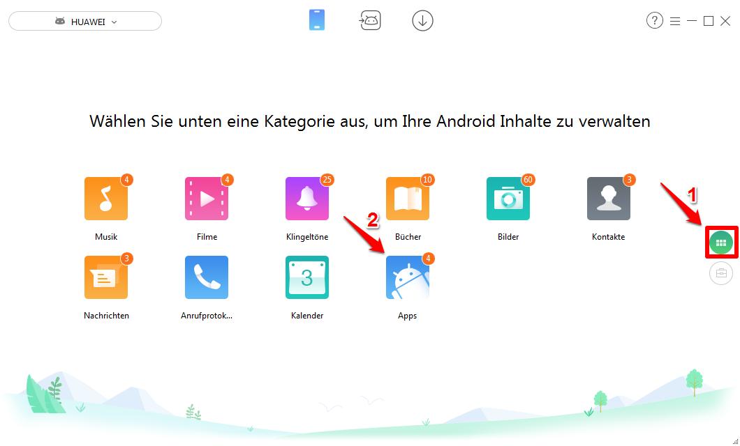 Huawei Apps löschen – Schritt 2
