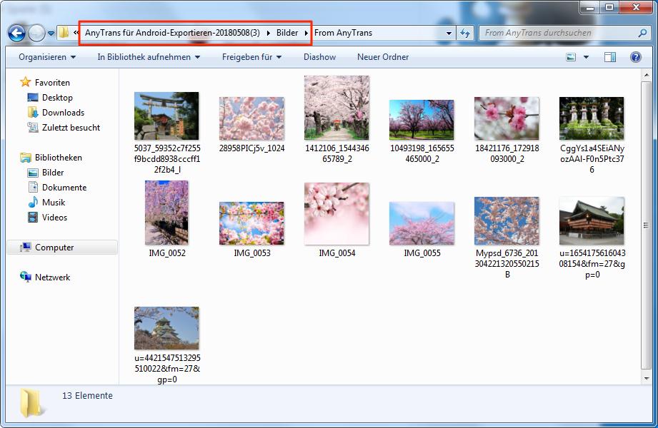 Huawei P9/8 Lite auf PC bekommen - Bilder überprüfen