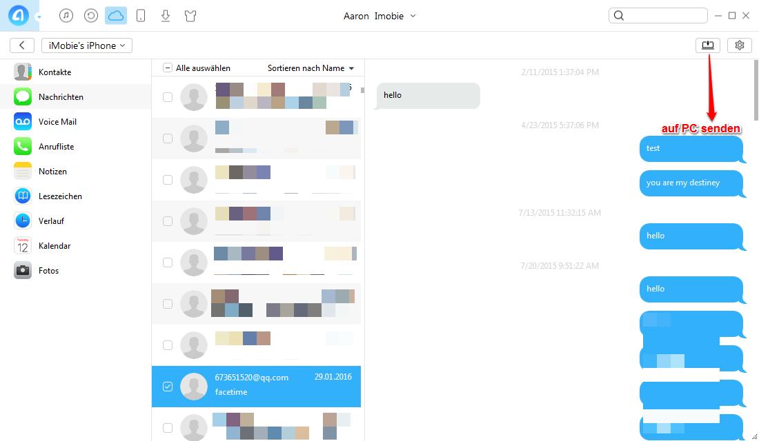 Auf iCloud Backup zugreifen - die Inhalte auslesen und verwalten