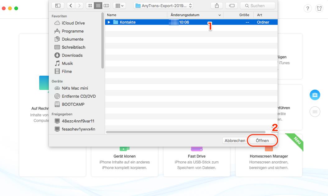 iCloud Backup auf iPhone laden - Schritt 3