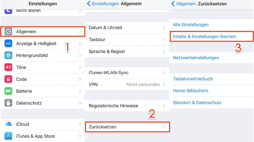 iCloud gelöschte Daten wiederherstellen – mit iCloud