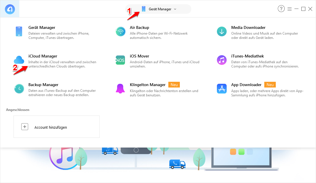 iCloud Drive deaktivieren – Dateien herunterladen