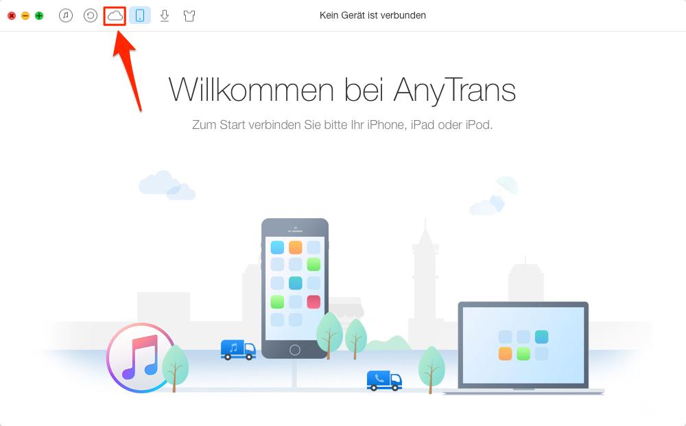 iCloud Erinnerungslisten löschen – Schritt 1