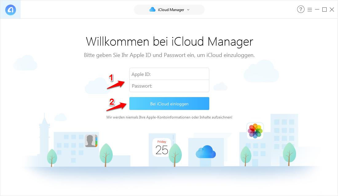 iCloud-Fotomediathek lädt nicht und was tun – Schritt 1