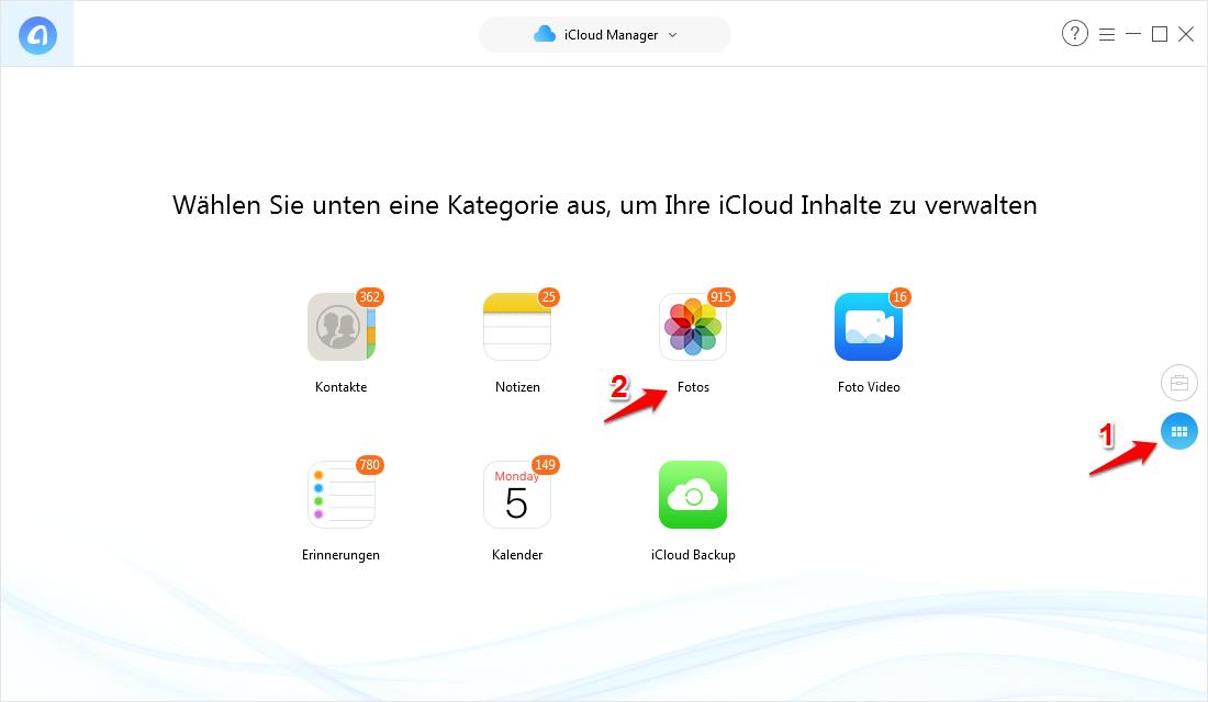 iCloud-Fotomediathek synchronisiert nicht und was tun – Schritt 2