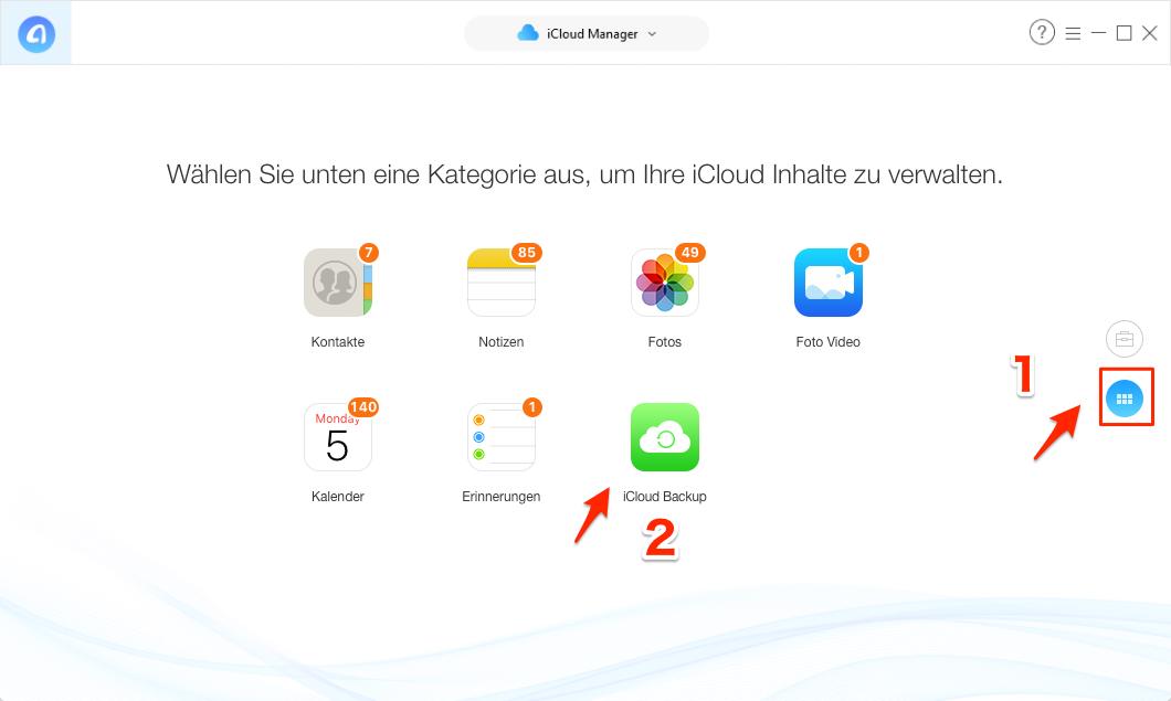 iCloud Fotos Windows - Schritt 2