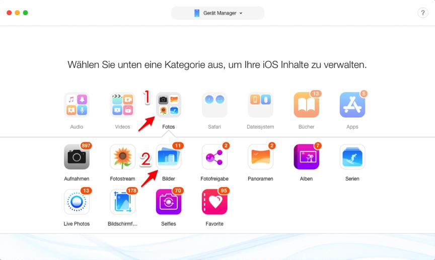 iCloud Fotomediathek lädt nicht hoch – Bilder finden