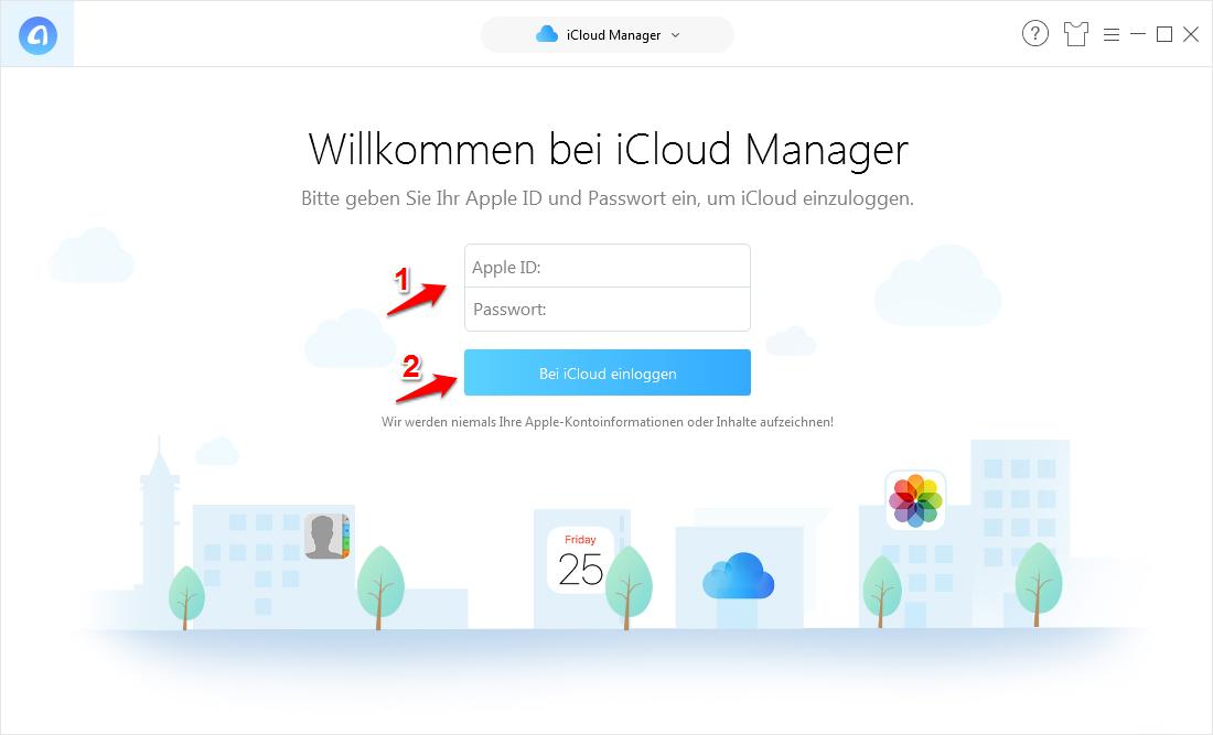 iCloud für Windows funktioniert nicht – Schritt 2