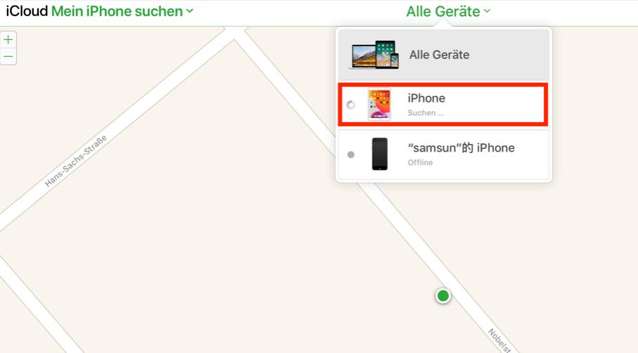 icloud-mein-iphone-suchen