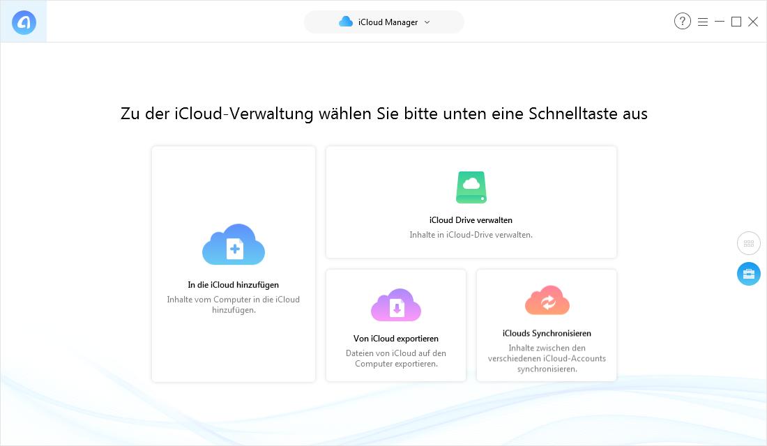 iCloud Speicher leeren – Intelligente Alternative zu iCloud auswählen