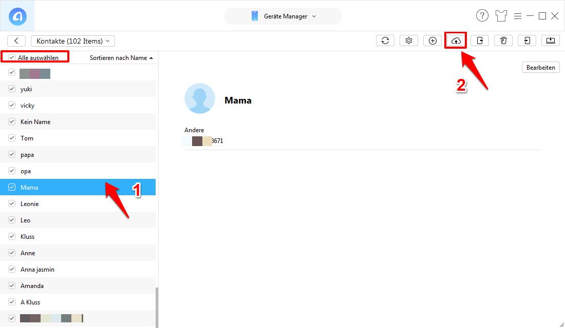 iCloud synchronisieren Kontakte nicht – Kontakte in iCloud sichern