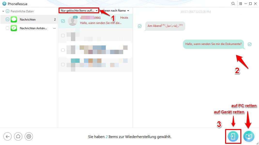 iOS 10/11/11.3/11.4 iMessage Probleme – iMessage verschwunden – Schritt 3