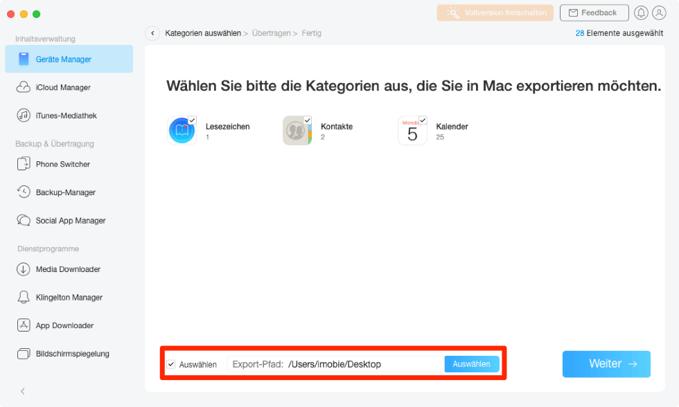 inhalt-auf-den-mac-export-pfad-auswaehlen