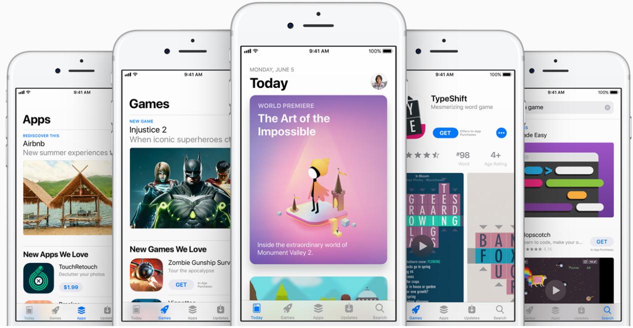 Der neue iOS 11 App Store – ganz neues Design