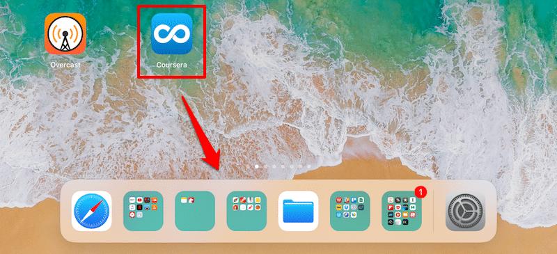 iOS 11 Dock anpassen bzw. einstellen - Apps im Dock hinzufügen
