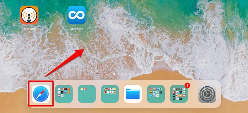 Apps aus dem Dock entfernen – iOS 11 Dock anpassen