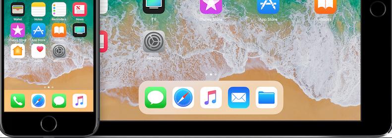 iOS 11/11.1 Split-Screen Multitasking – Apps ins Dock bringen